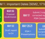 PSM2 Calendar Brief (Sem2_1718)