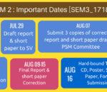 PSM2 Calendar Brief Sem31718