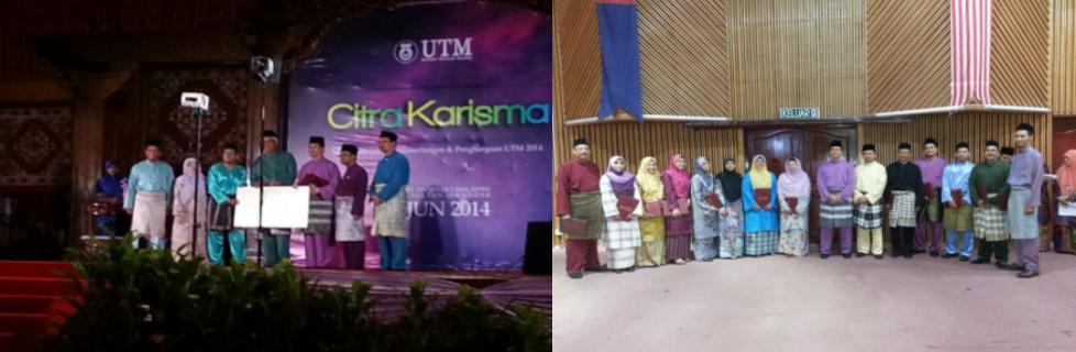 Tahniah kepada Penerima Anugerah Citra Karisma 2014