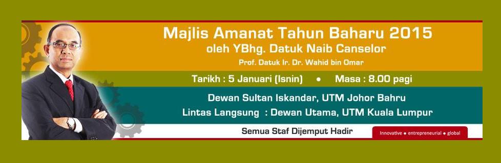 Majlis Amanat Tahun Baru 2015